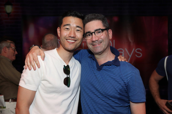 Daniel K. Isaac and Playwright Jonathan Tolins Photo
