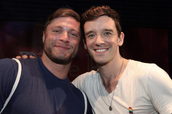 Brock Yurich and Festival Producer Michael Urie