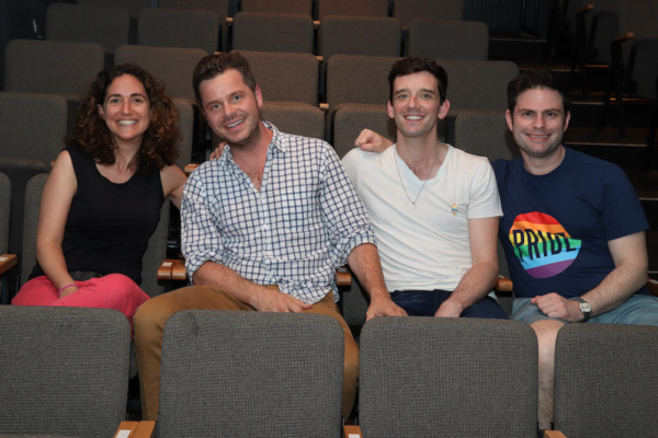 Rattlestick Playwrights Theater Artistic Director Daniella Topol, Festival Director Nick Mayo, Festival Producers Michael Urie and Doug Nevin