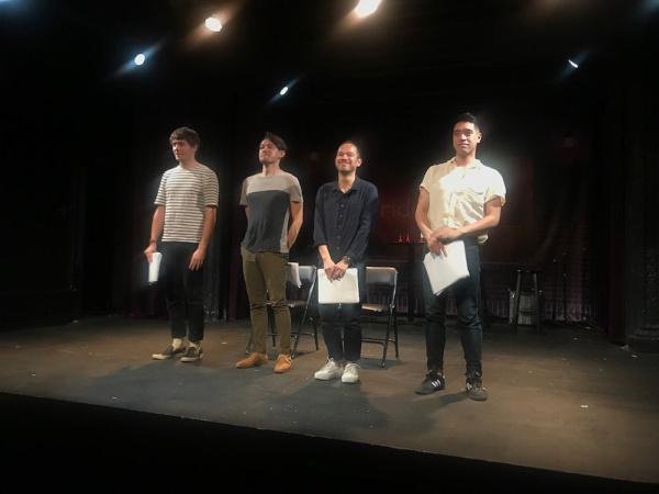 Will Seefried, Vichet Chum, Jon Norman Schneider and Alton Alburo Photo