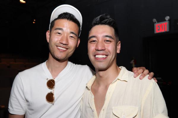 Daniel K. Isaac and Alton Alburo Photo