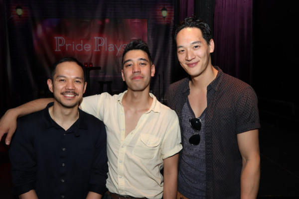 Photo Flash: Vichet Chum, Alton Alburo, Jon Norman Schneider and Will Seefried in Pride Plays' Reading of Chay Yew's A LANGUAGE OF THEIR OWN at Rattlestick