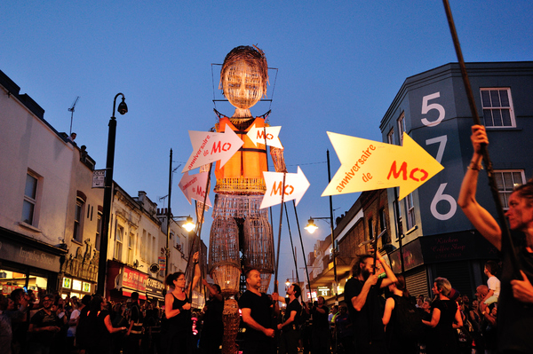 Photos: Inside MO AND THE RED RIBBON's Trek Through London
