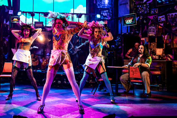 Photo Flash: ROCK OF AGES Brings the Jam Back to the Stage