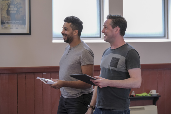 Photo Flash: In Rehearsal With SEASONS GREETING at the Stephen Joseph Theatre