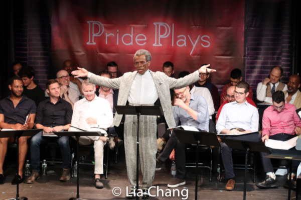 Photo Flash: Andre De Shields, John Benjamin Hickey And More Star In Terrence McNally's SOME MEN at Rattlestick