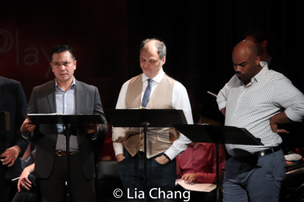 Jose Llana, Michael Mastro and David Ryan Smith