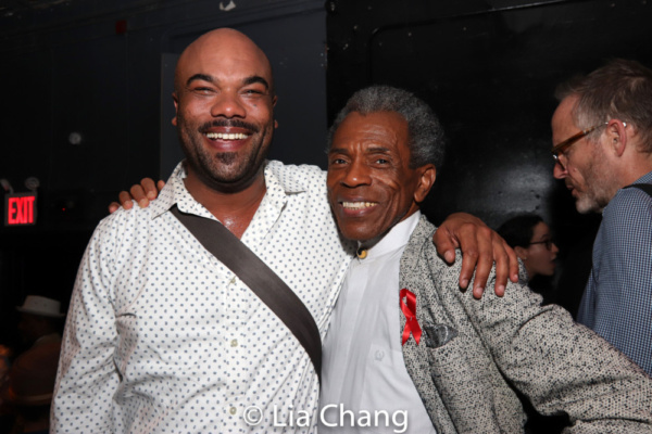David Ryan Smith and Andre De Shields Photo
