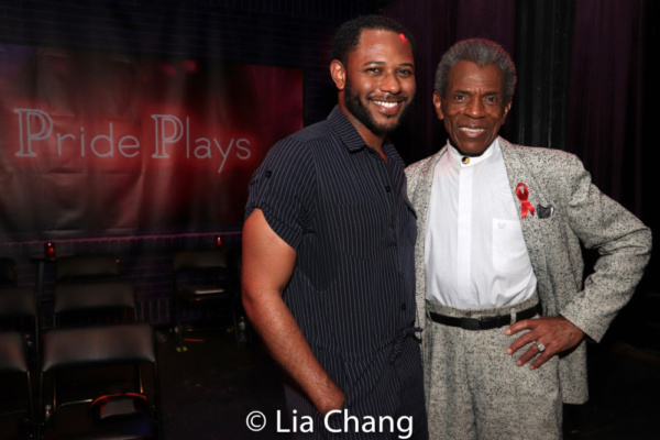 Larry Powell and Andre De Shields