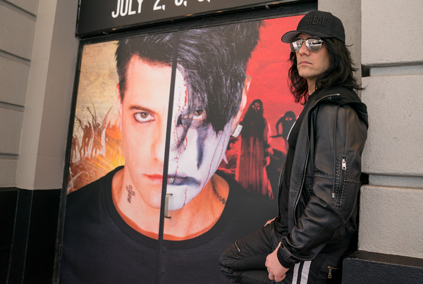 Photo Flash: Magician Criss Angel Begins His Broadway Residency!
