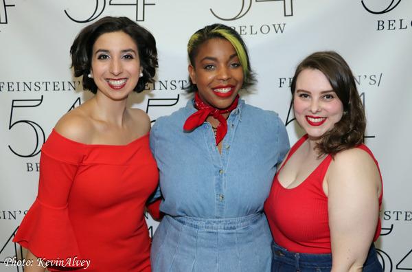 Katherine Winter, Kathryn Alison, Jacqui Serois Photo
