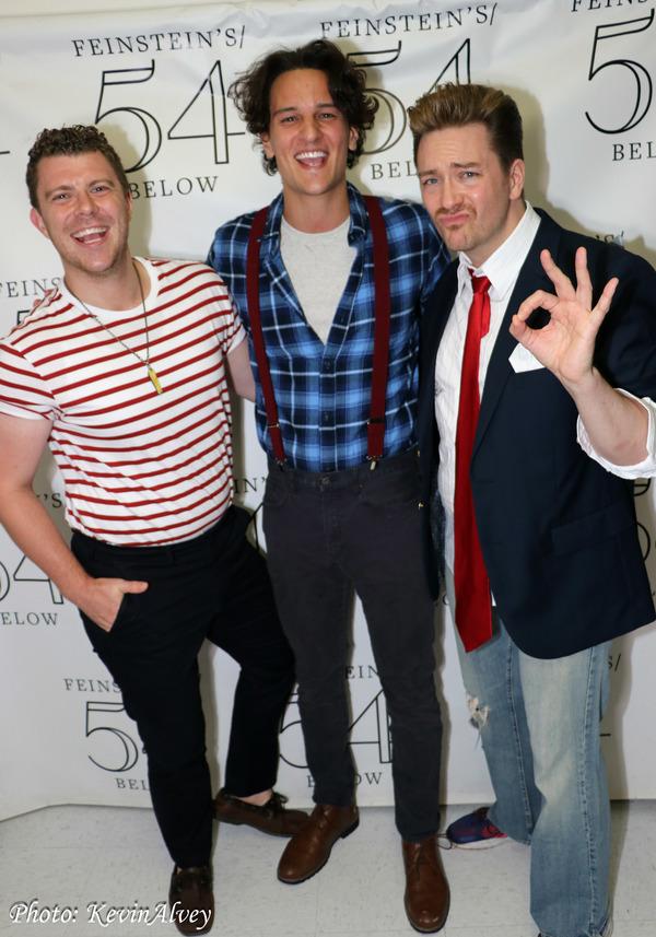 Jordan Bell, Cory Jeacoma, Brian Charles Rooney
