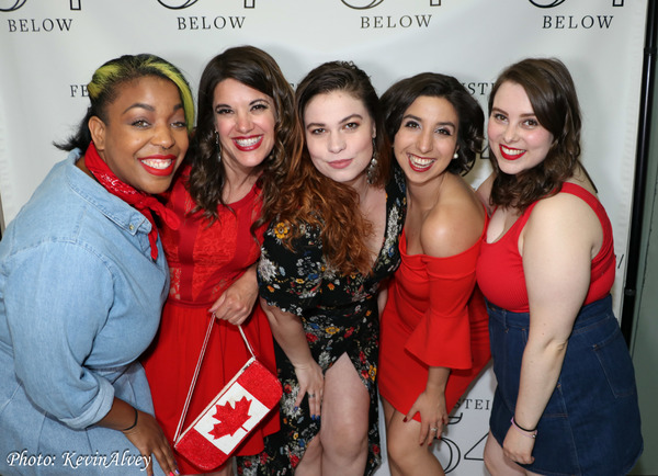 Kathryn Alison, Amy Rivard, Cassie Nadeau, Katherine Winter, Jacqui Serois