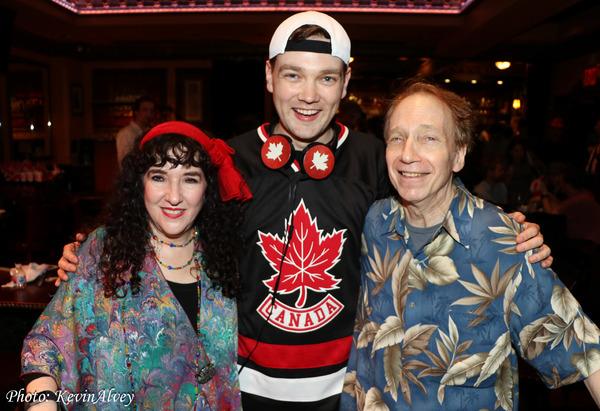 Photo Coverage: Joshua Stackhouse Celebrates Canada Day at Feinstein's/54Below