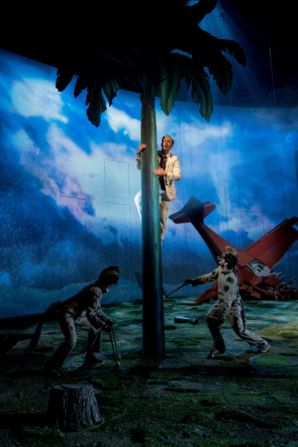 Photo Flash: First Look at PETER GYNT at the National Theatre