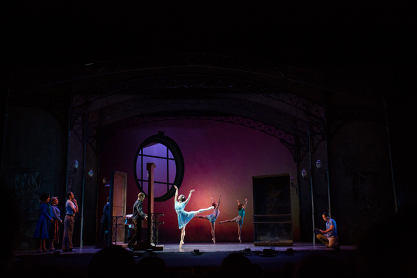 Photo Flash: First Look at Clyde Alves, Julie Eicher, Ben Fankhauser, and More in AN AMERICAN IN PARIS in Wichita