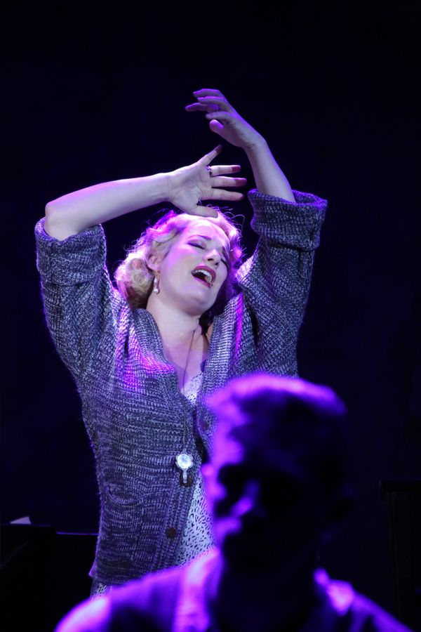 Photo Flash: First Look at Laura Michelle Kelly and Forrest McClendon in CABARET at CRT