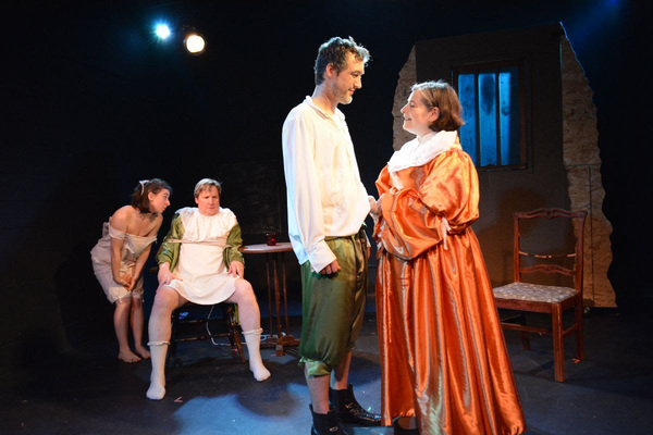 Taylor McWilliams-Woods as Morse, Tim Kough as Snelgrave, Andrew Thorp as Bunce, Rosa Photo