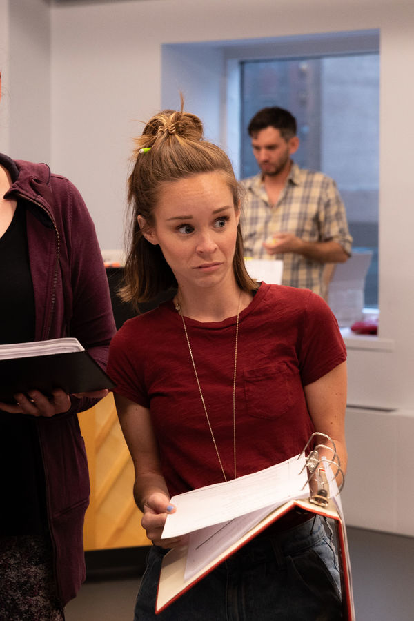Photo Flash: Go Inside Rehearsals for INTO THE WOODS at Town Hall!