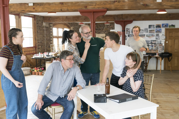 Photo Flash: In Rehearsal with THE BRIDGES OF MADISON COUNTY