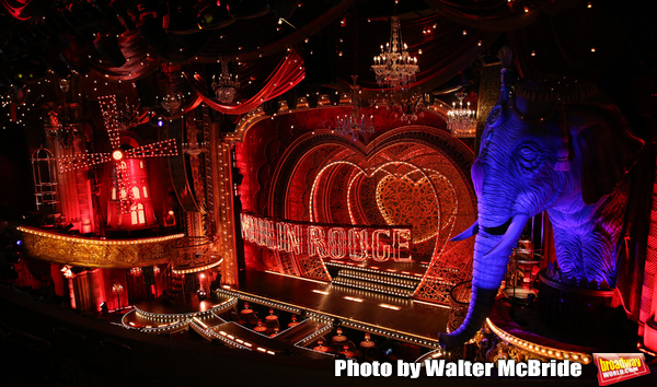 Photo Coverage: A Look at Derek McLane's Scenic Design for Broadway's MOULIN ROUGE!