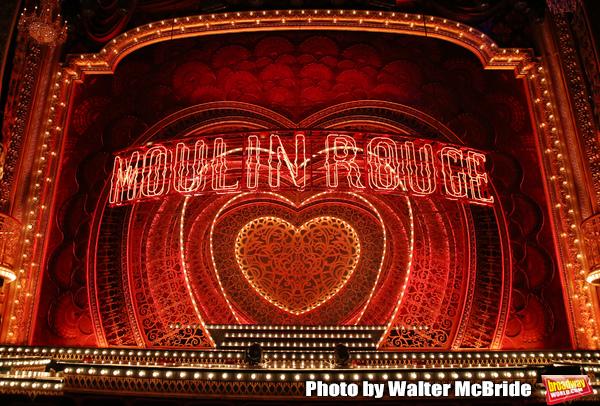 "Derek McLane scenic design for ""Moulin Rouge!"""