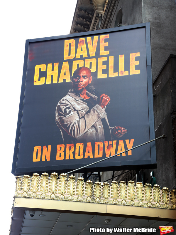 Up On The Marquee: DAVE CHAPPELLE ON BROADWAY