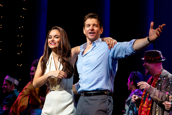 Photo Coverage: Roy Orbison's Sons Perform 'Oh, Pretty Woman' With the Cast of PRETTY WOMAN
