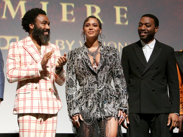 Donald Glover, Beyonce Knowles-Carter, Chiwetel Ejiofor Photo