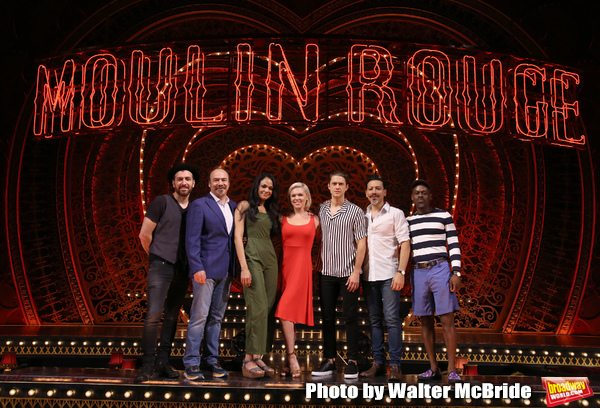 Photo Coverage: Welcome to the MOULIN ROUGE! The Cast and Creatives Meet the Press!