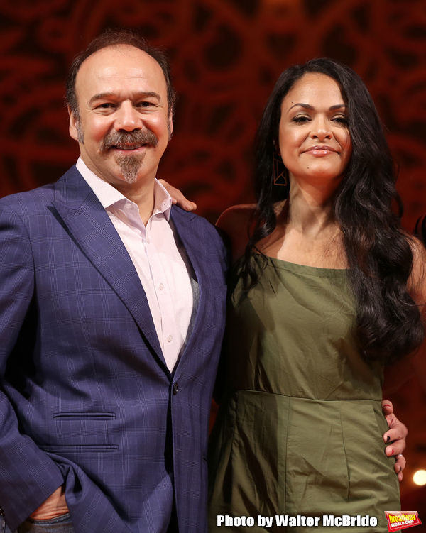 Danny Burstein and Karen Olivio