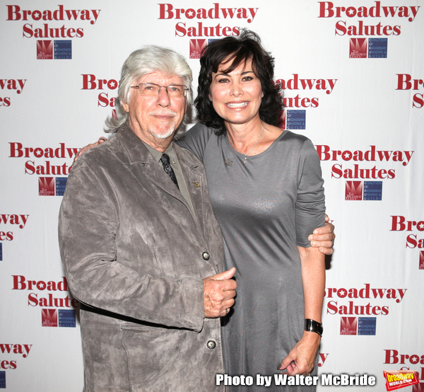 Martin Charnin & Shelly Bruce attending the 'Broadway Salutes' honoring those who mak Photo
