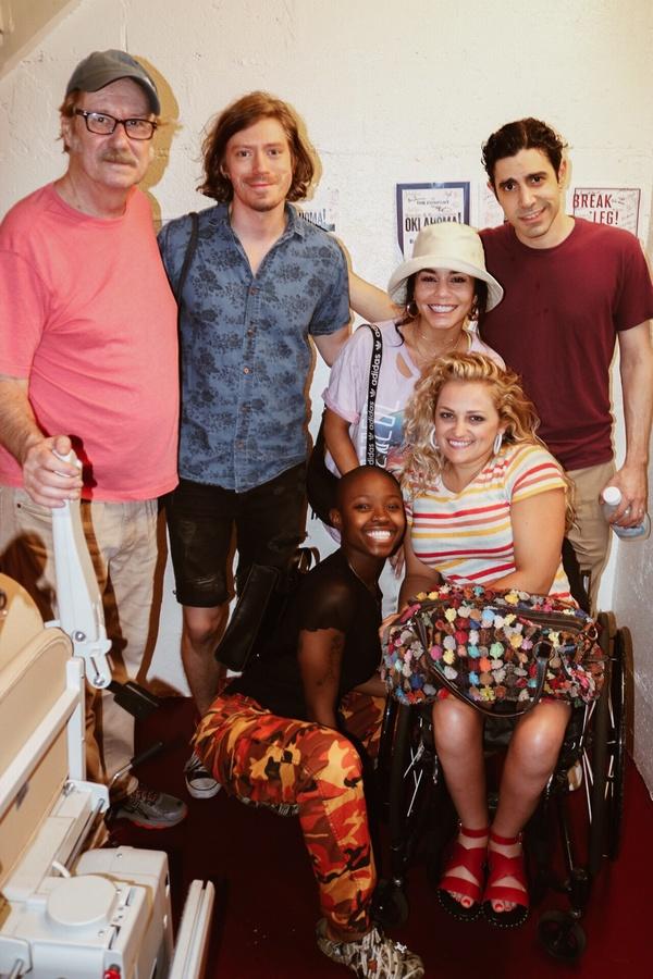 Photo Flash: Vanessa Hudgens Pays a Visit to OKLAHOMA!