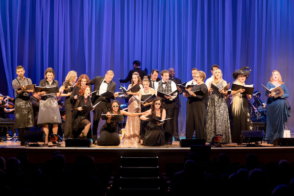 Photo Flash: Head INTO THE WOODS with the Starry Cast of the Town Hall Concert