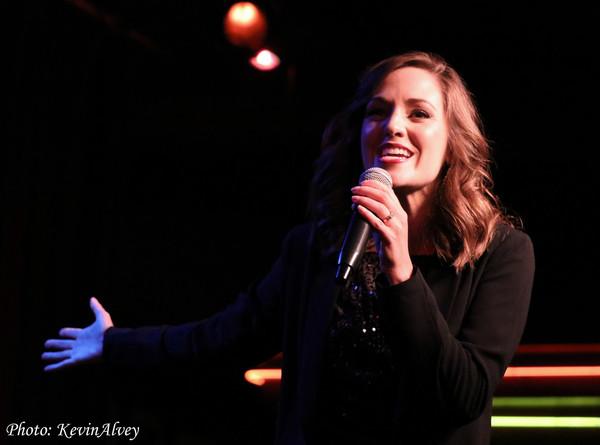 Photo Flash: Laura Osnes Returns To The Birdland Stage!