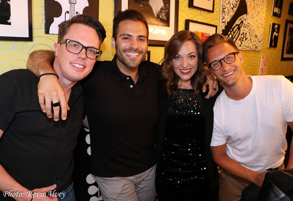 Mike Taylor, Michael Mott, Laura Osnes, Nathan Johnson
