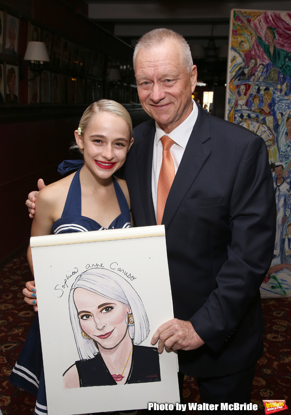 Sophia Anne Caruso and Max Klimavicius