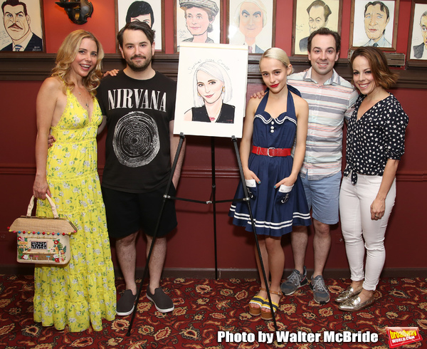 Kerry Butler, Alex Brightman, Sophia Anne Caruso, Rob McClure and Leslie Kritzer