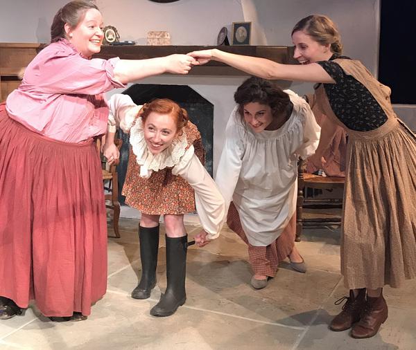 Lane Allison, Sandra Kate Burck, Caroline Klidonas and Ann Marie Wilding Photo