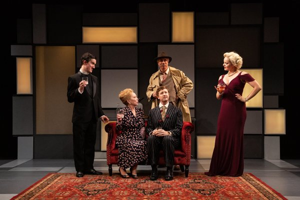 Photo Flash: TIME FLIES AND OTHER COMEDIES at Barrington Stage Company