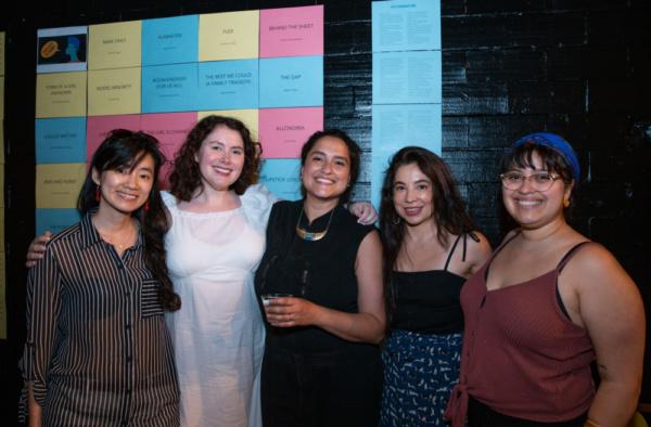 Hansol Jung, Caroline McGraw, Jaclyn Backhaus, Hilary Bettis, and Monet Hurst-Mendoza