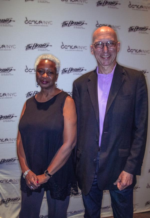 Eva Yaa Asanteewa and Ken Tabachnick of Merce Cunningham Trust