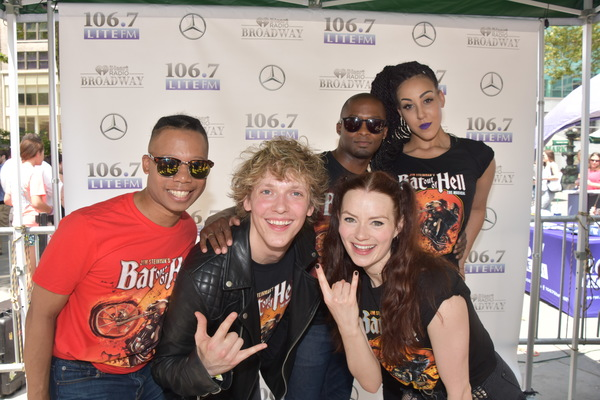 From The Cast of Bat Out Of Hell-Avionce Hoyles, Andrew Polec, Tyrick Wiltez Jones, Christina Bennington and Danielle Steers