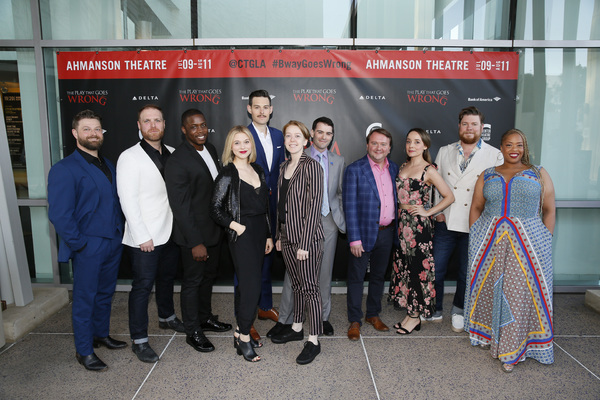 Photo Flash: THE PLAY THAT GOES WRONG Opens At The Ahmanson Theatre