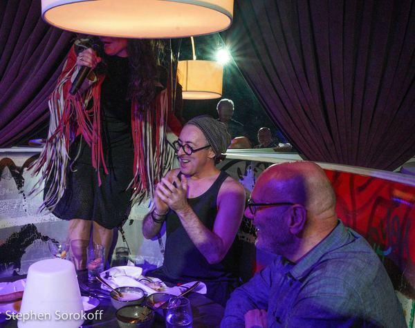Photos: Alan Cumming Visits Frances Ruffelle at The Green Room 42