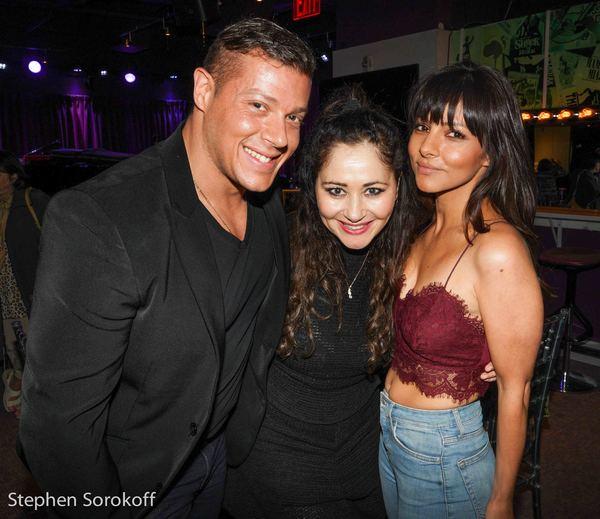 Jason Carrion, Frances Ruffelle, Roxanne Pallett Photo