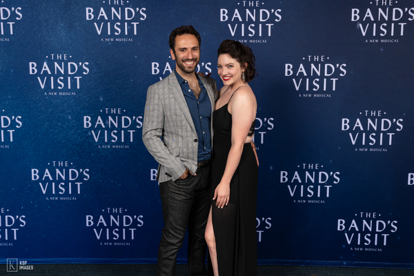 Photo Flash: THE BAND'S VISIT Tour Celebrates Opening Night