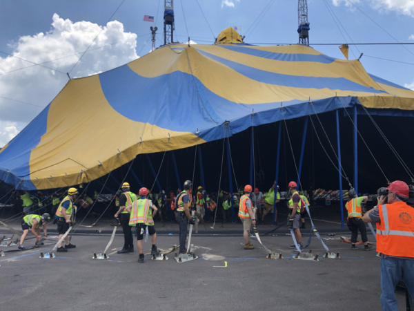 Photo Flash: Cirque Du Soleil Arrives In Oaks With Big Top Production AMALUNA