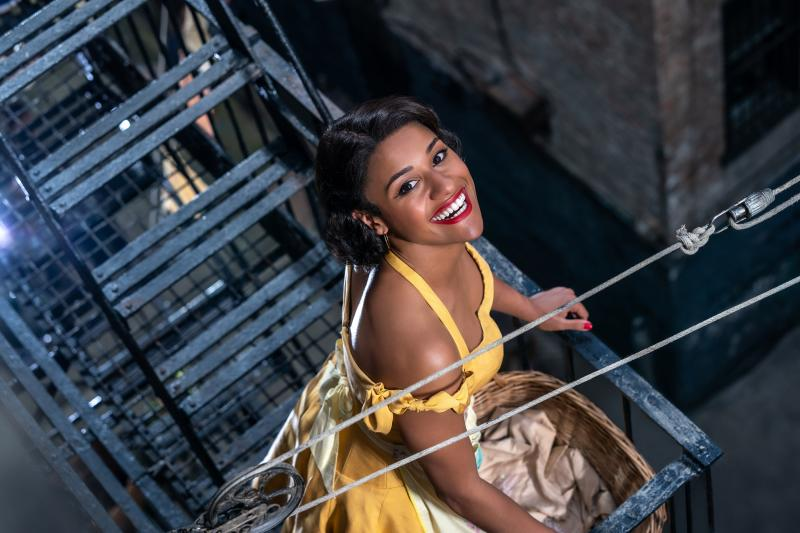 PHOTO: First Look at Ariana DeBose as Anita in WEST SIDE STORY