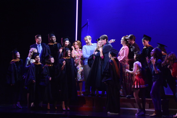Kirby Lunn, Tyler Miclean and the Cast of Legally Blonde Photo